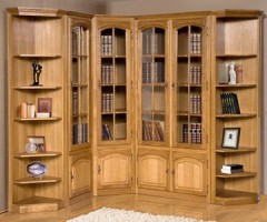 Заказать шкаф для библиотек массив сосны в воронеже - массив.