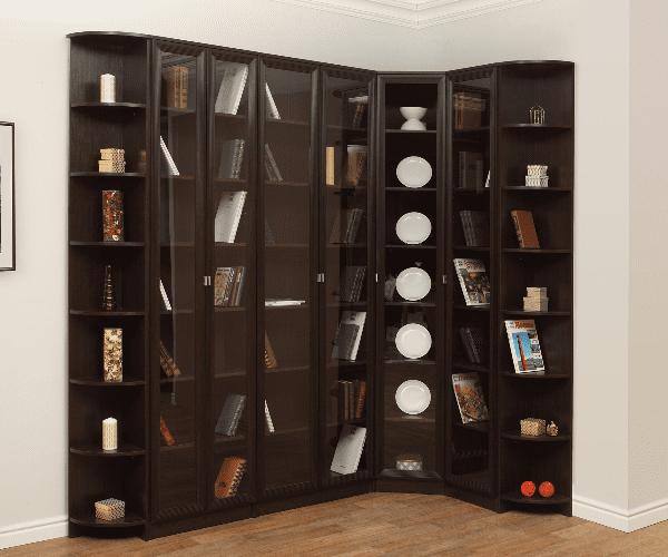 Заказать шкаф книжный массив ясеня разработка дизайна изгото.