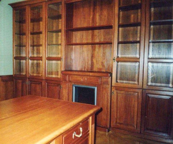 Заказать библиотека массив дуба в воронеже - массив, мебель .